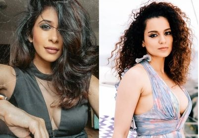 Kangana's fans accuse Kishwer of bullying her for not wearing mask, actress responds