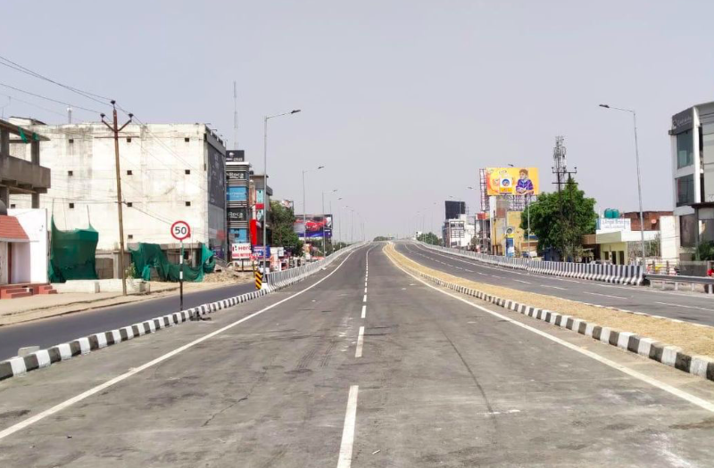Lucknow's new Tedhipulia flyover will open for public use from April 2