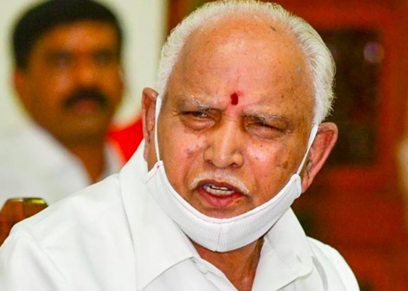 Karnataka CM Yediyurappa tests Covid positive for 2nd time in 8 months