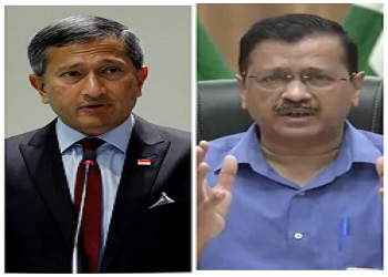 Singapore foreign minister slams CM Kejriwal, asks him to 'stick to facts'