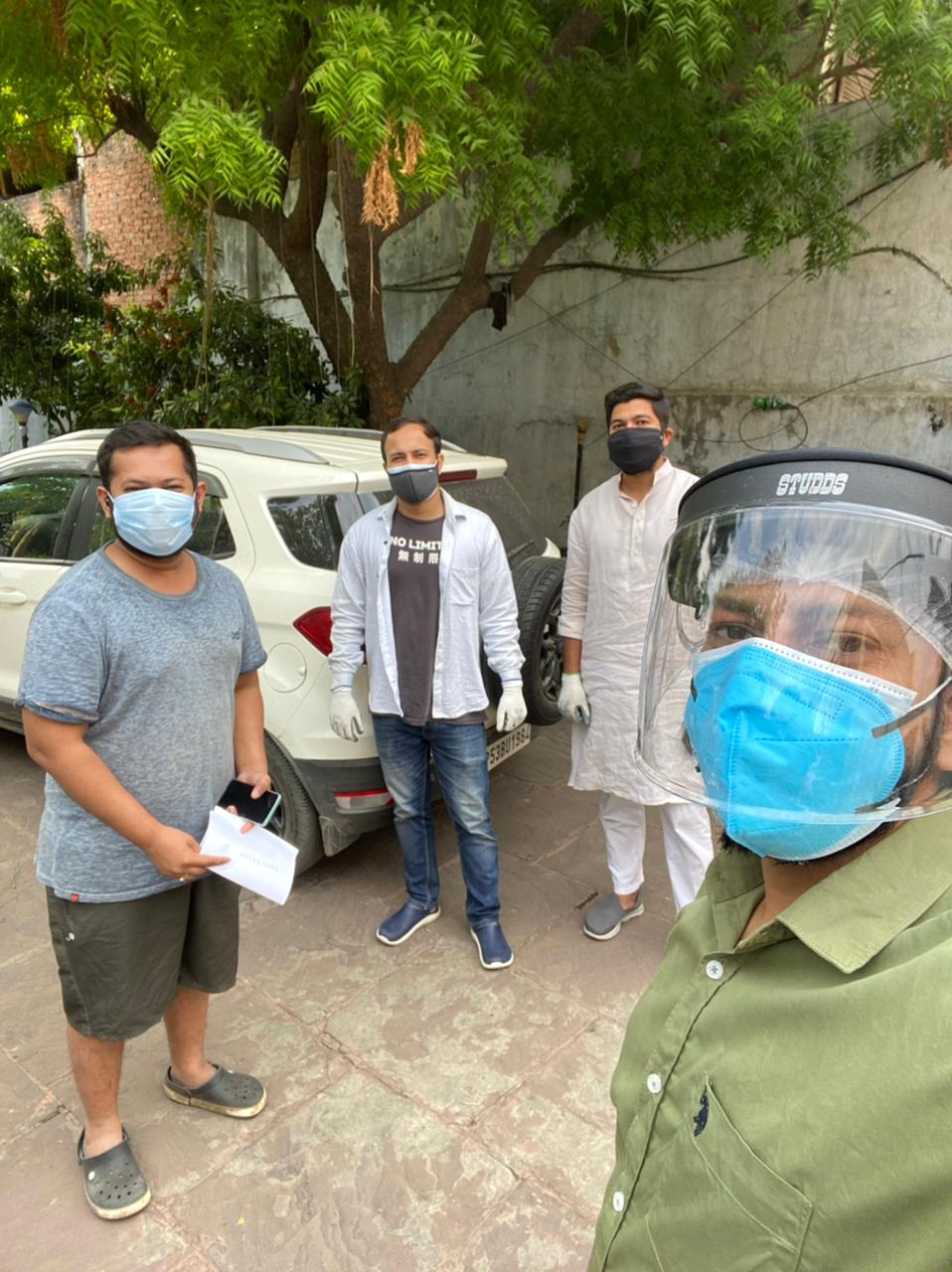 Lucknow Covid warriors urge 'Madad Karona' as they launch war against pandemic