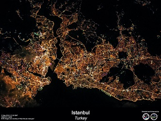 NASA shares 'glowing' image of Istanbul taken from space, goes viral