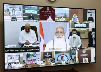Highlights of PM Modi's COVID-19 review meeting with field officials from states,districts