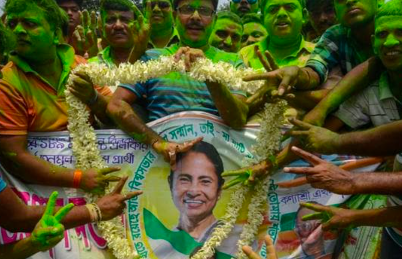 Mamata registers historic win, reclaims West Bengal for the third consecutive term