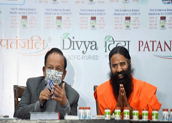 """""""Clarification not enough"""": HM tells Ramdev to withdraw allopathy remarks"""