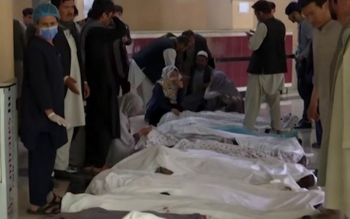 Afghan school bombing: Death toll soars to 68, over 150 injured