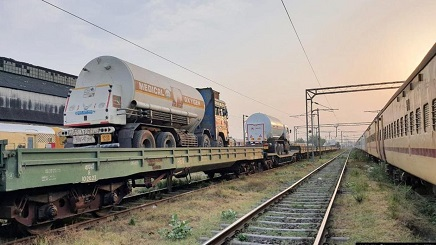 Indian Railways moves 969 tonnes of oxygen to 6 states and a UT in 24 hours