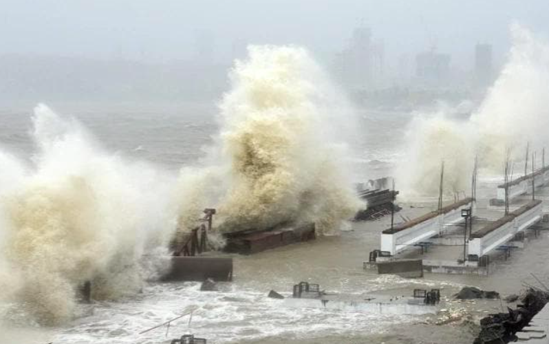 Around 22 dead, 51 missing after barge sinks off Mumbai, Rescue ops on
