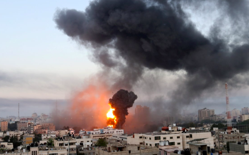 At least 26 killed in a deadly Israeli airstrike on Gaza city