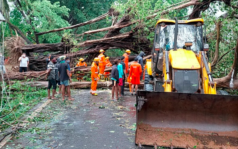 Cyclone Tauktae weakens to 'very severe' storm; takes 3 lives in Gujarat