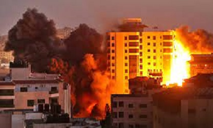 35 Palestinians killed in Gaza, 5 in Israel, as violence escalates
