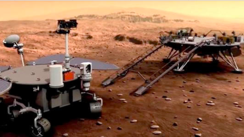 With 'Tianwen-1' spacecraft China becomes 2nd country to send a rover on Mars