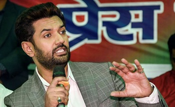 Chirag Paswan removed as LJP chief, says 'party like mother, shouldn't be betrayed'