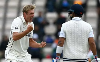 Indian fans abuse Jamieson on Instagram after he dismisses Kohli in WTC final
