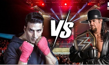 Undertaker challenges Akshay for a match, actor says 'Let me check on my insurance'