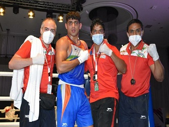Sanjeet wins his 1st gold, 2nd for India at Asian boxing C'ships
