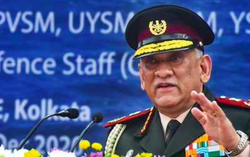 After Galwan clash China realised need for better training: CDS Gen Bipin Rawat