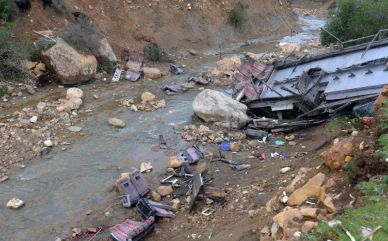 At least 20 pilgrims killed, 42 injured after bus overturns in Pakistan