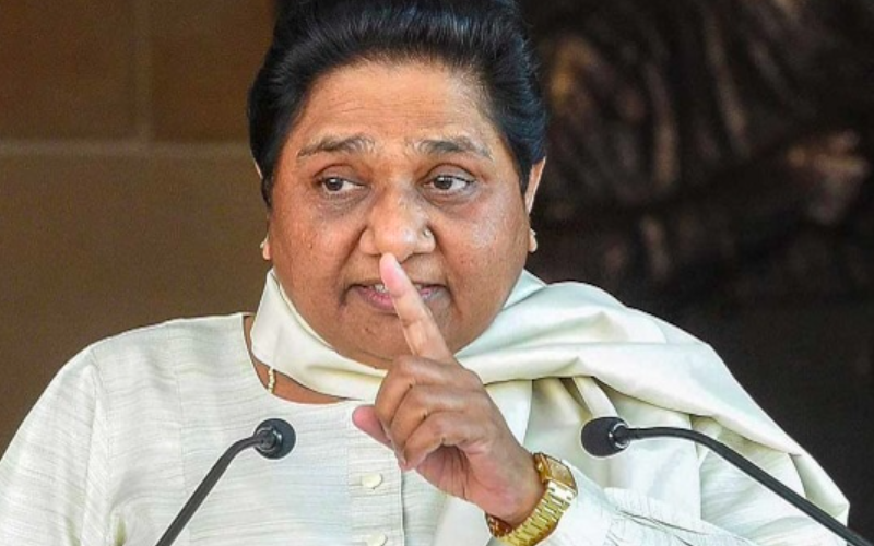 BSP will fight solo in UP, Uttarakhand, no plans for tie-ups: Mayawati