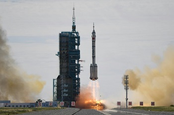 China sends 3 astronauts to new space station in 1st crewed mission in 5 yrs