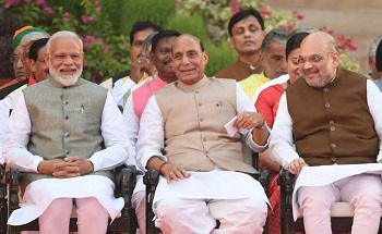 PM holds high-level meeting with Amit Shah, Rajnath Singh, Ajit Doval