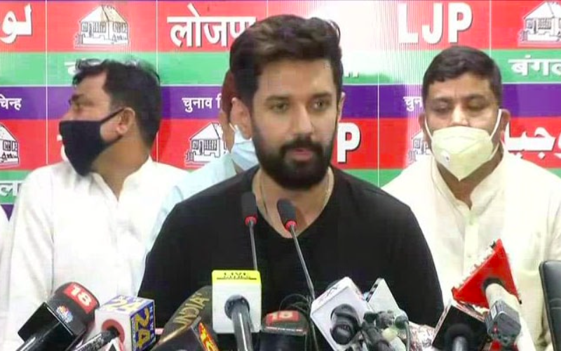 """""""I'm son of a lion"""": Chirag Paswan says after facing revolt led by uncle"""