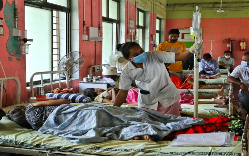 India records 91,702 new Covid cases, 3,403 fatalities