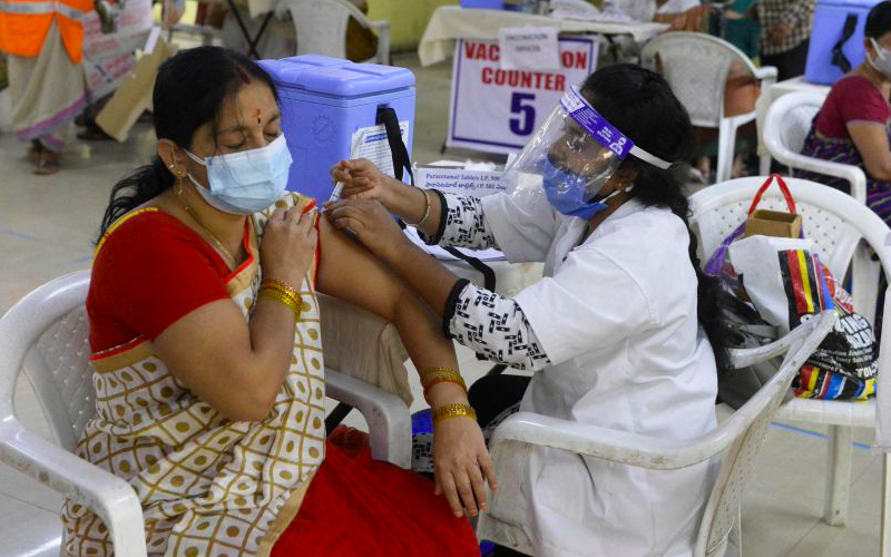 Andhra Pradesh sets record with over a million people vaccinated in a day