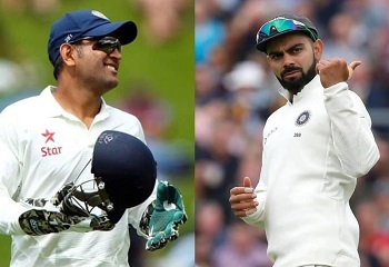 Kohli breaks Dhoni's record for captaining India in most number of Test matches