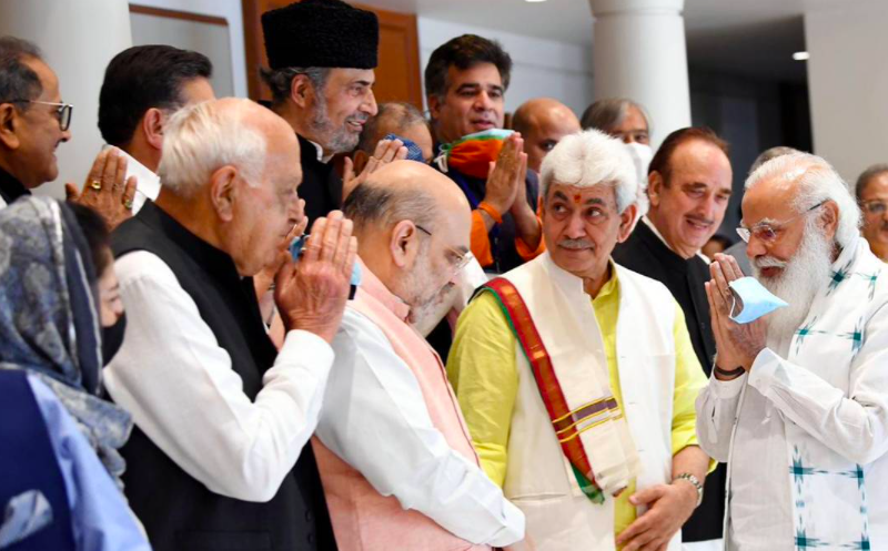 PM Modi all party meet may see resistance as J&K leaders firm on demands