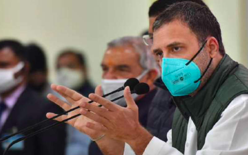 """""""PM's tears didn't save lives but Oxygen could have"""": RaGa takes dig at Centre"""
