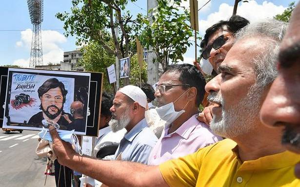 On Danish Siddiqui's death, AAP MP questions on PM's silence