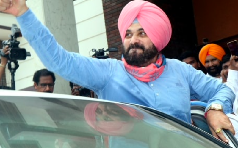 Amid party infighting, Navjot Singh Sidhu appointed Punjab Cong Chief