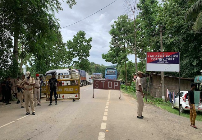 Assam directs residents not to visit Mizoram, orders checking of all vehicles