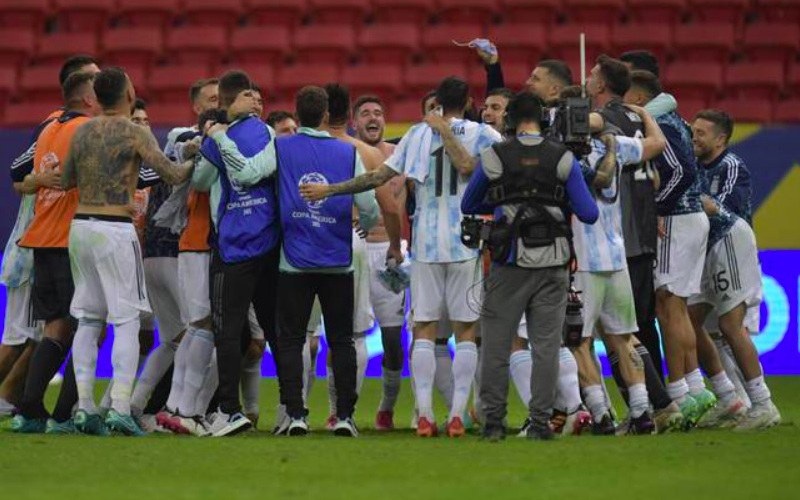 Copa America 2021: Argentina beats Colombia in semis, to face Brazil in final