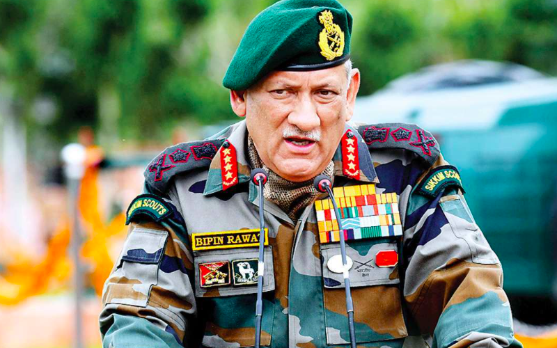 """Drone attacks: """"India to retaliate at a time, place of its choosing"""", warns CDS Rawat"""