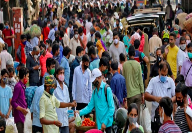 India's daily Covid tally jumps, 43,654 new cases amid fear of 3rd wave