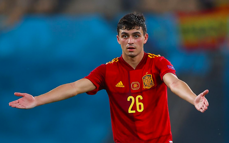 Pedri bets to shave his head if Spain go on to win Euro 2020 title