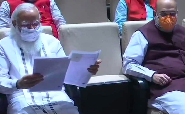Pegasus report row: PM Modi targets Opps, tells BJP MPs to defeat Cong's lies with truth