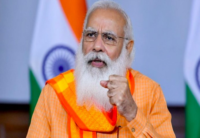 PM Modi calls for a need to do away with the negative perception of police