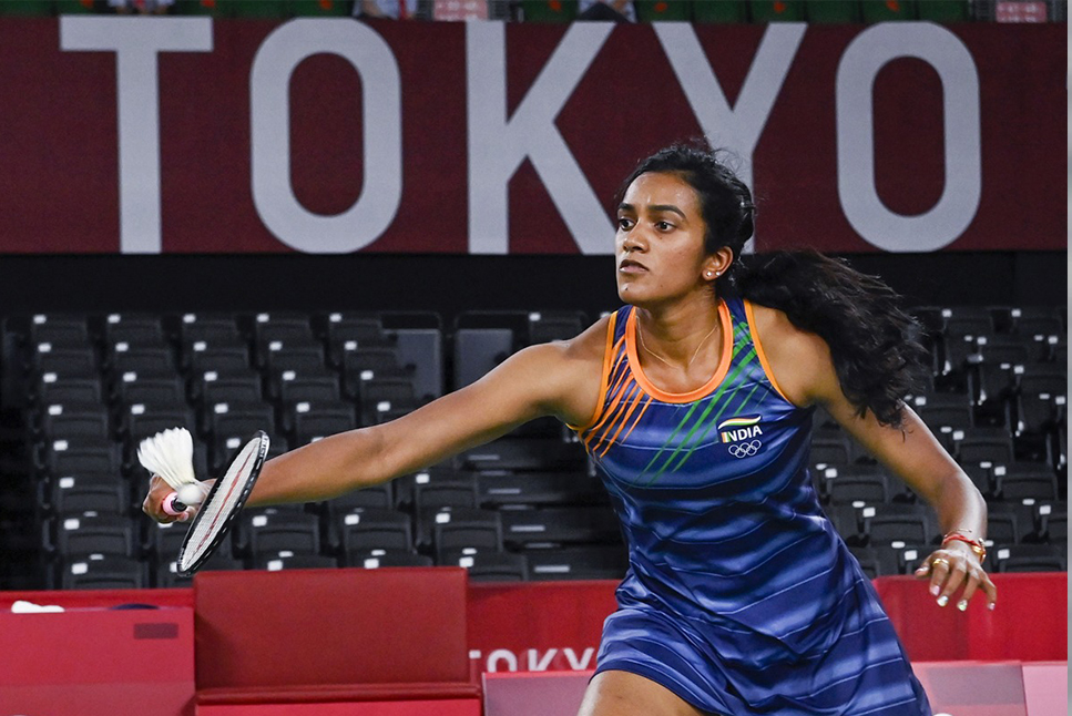Tokyo 2020: PV Sindhu made it to the semi-finals with a great game, defeating Yamaguchi in straight sets