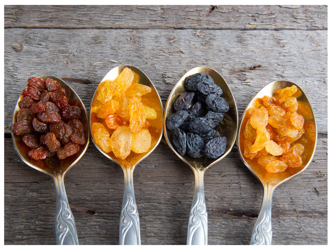 Study: Raisins are very effective for skin and hair