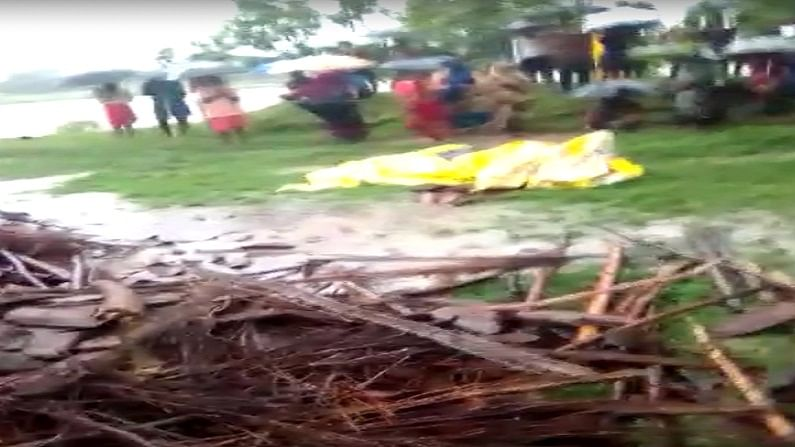 MP News: House collapsed due to heavy rain in Rewa, 4 killed, 1 injured