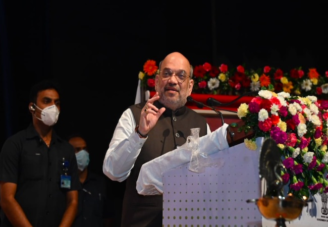 Amit Shah lays foundation stone of forensic sciences institute in Lucknow
