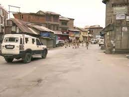 J&k: Terrorists hurl grenades at security forces in Srinagar,11, people with ,2, policeman injured