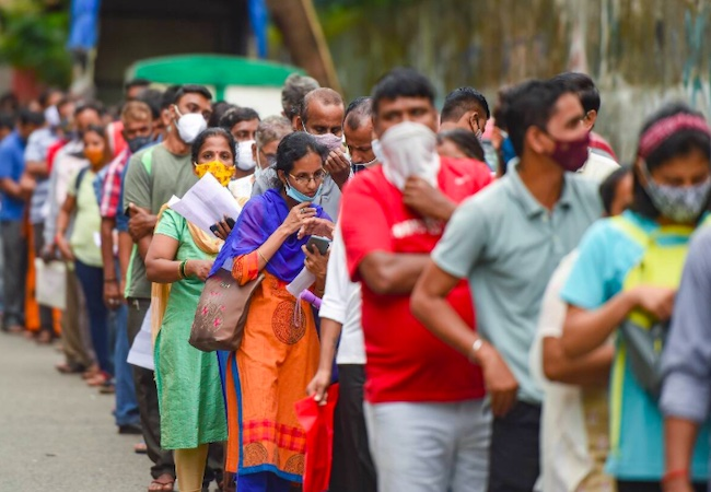 India's single day Covid tally rises to 42,766, max active cases from Kerala