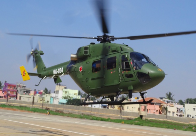 Indian Army chopper crashes in Punjab's Pathankot, rescue oper...