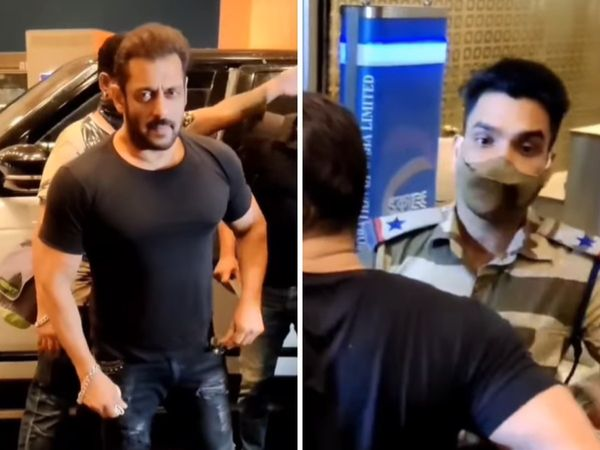 CISF official who stopped Salman Khan, gets reward for exemplary professionalism