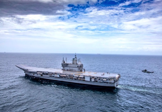 Vikrant, India's first indigenous aircraft carrier, not a liability: Navy