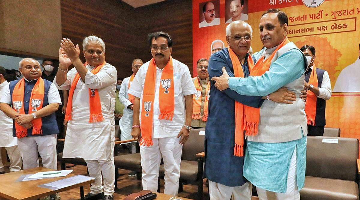 Gujarat's new cabinet to take oath today amid disagreements over dismissal